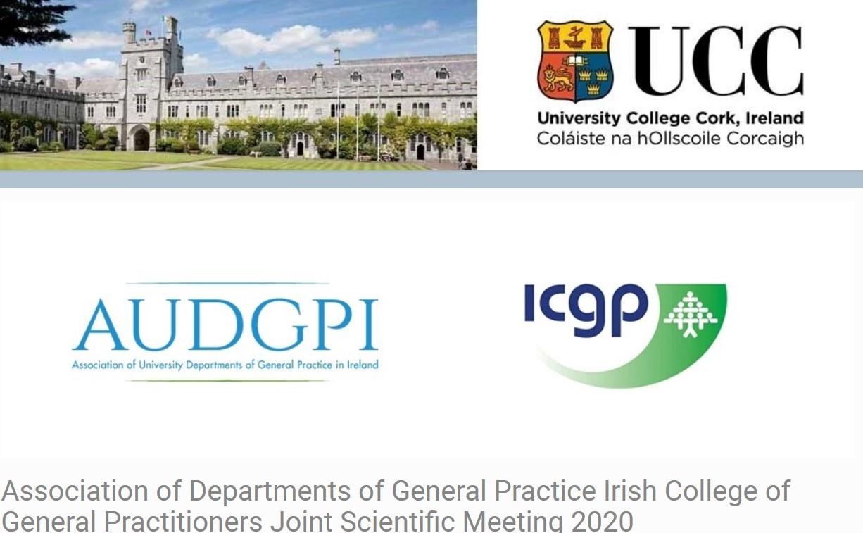 Association of Departments of General Practice Irish College of General Practitioners Joint Scientific Meeting 2020